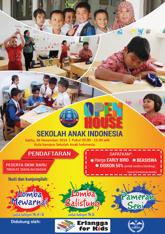 open house Sekolah Anak Indonesia